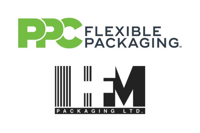 PPC Flexible Packaging, LLC and HFM Packaging LTD logos