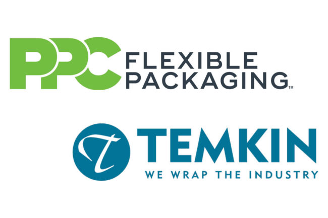 PPC Flexible Packaging and Temkin International logos