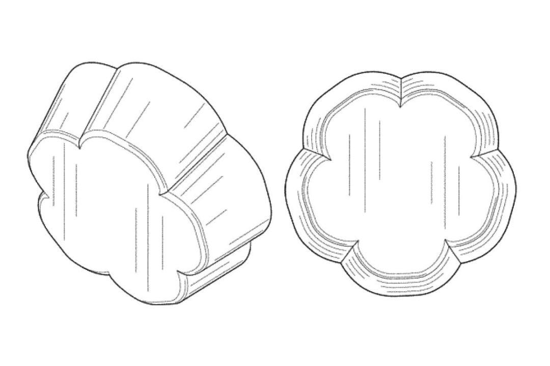 Colgate-Palmollive pet food piece patent
