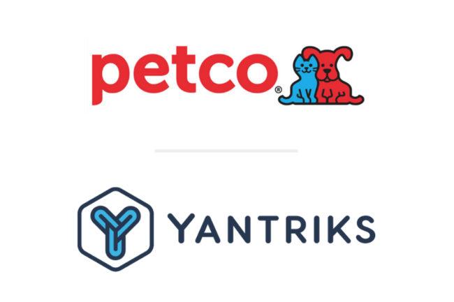 Petco and Yantriks logos