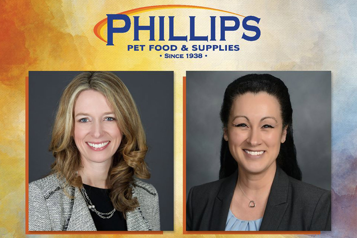 Phillips promotions, Thibodeau and Hickman (lead caption)