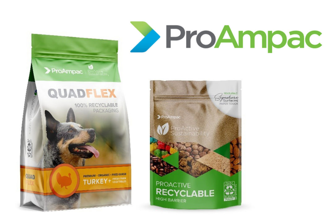 ProAmpac QuadFlex and ProActive Sustainability packaging