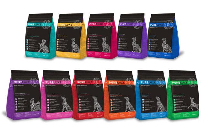 PureLUXE line of pet foods