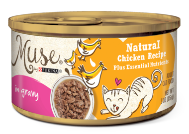 Purina Muse Natural Chicken Recipe in Gravy