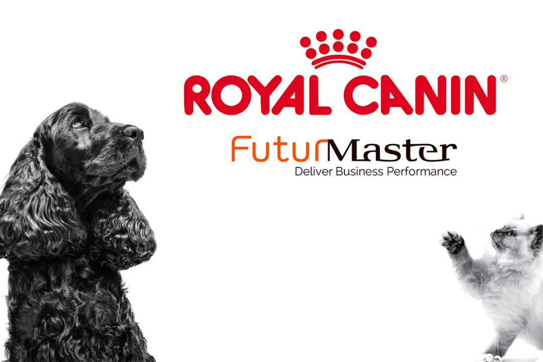 Royal Canin dog and cat graphics, Royal Canin logo, FuturMaster logo