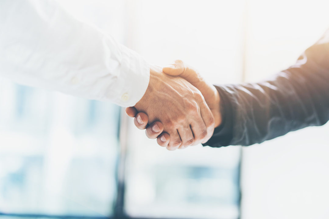 Business handshake (©STOCKR - STOCK.ADOBE.COM)