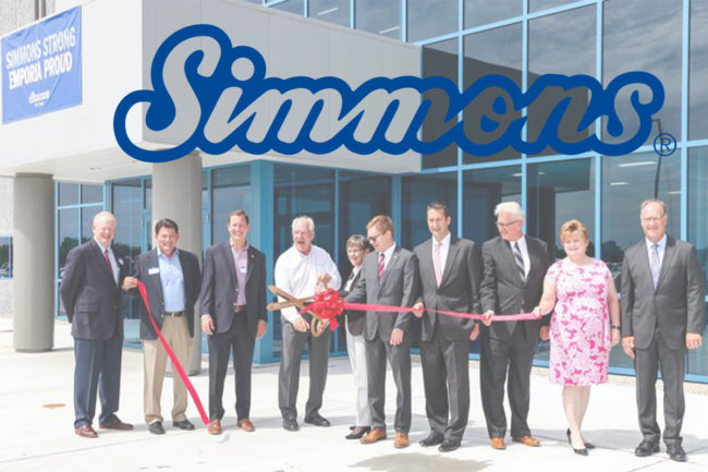 Ribbon cutting at Simmons Pet Food's new flexible packaging facility in Emporia, Kansas