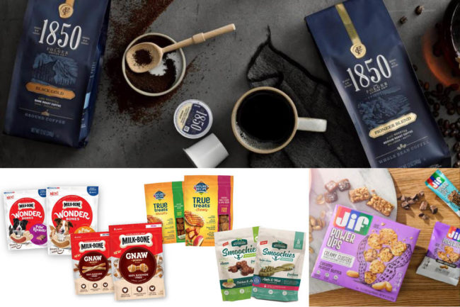 Smucker's new coffee, pet food and Jif products