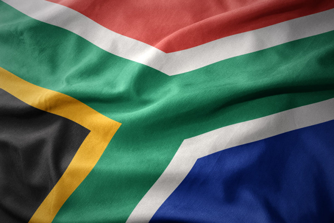 South Africa flag (©STOCKR - STOCK.ADOBE.COM)