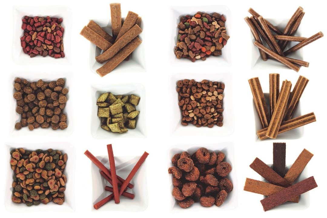 Clextral extruded dry pet food and treats