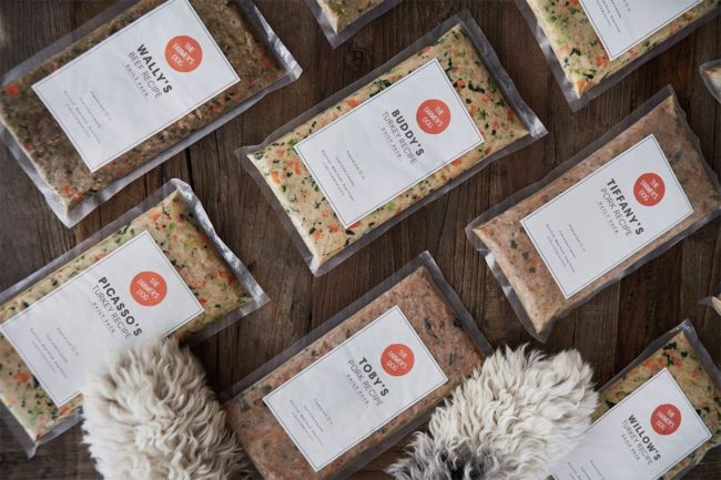 Personalized dog meals from The Farmer's Dog