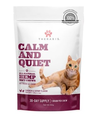 Therabis cat treats, Calm and Quiet