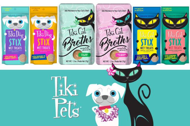 Tiki Pets new Petites Stix, Cat Stix and Cat Broths