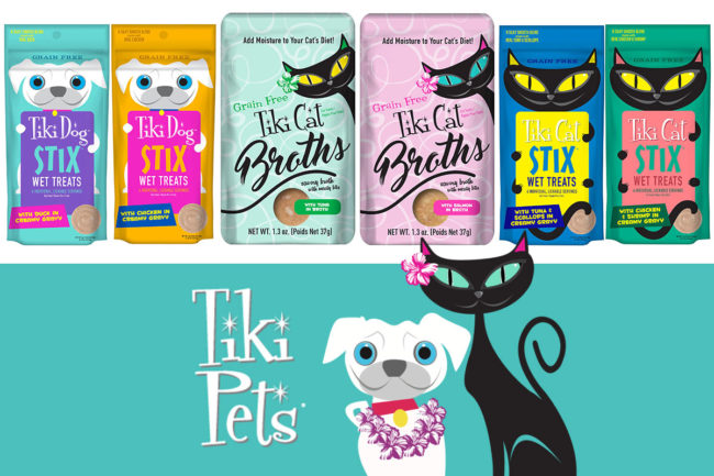 Tiki Pets new Petites Stix, Cat Stix and Cat Broths