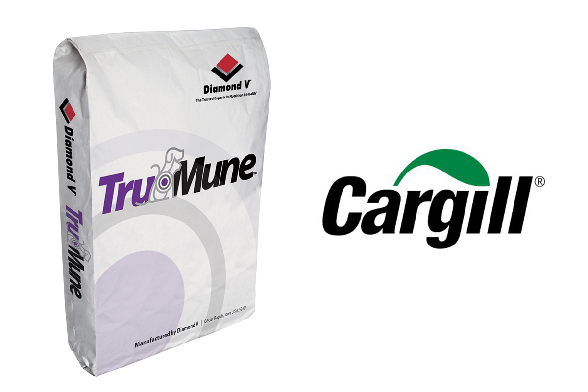 Cargill logo and TruMune package