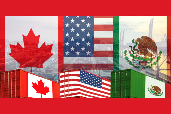 US, Canada and Mexico trade (©STOCKR - STOCK.ADOBE.COM)