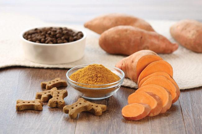 Van Drunen Farms sweet potato powder for dog treats