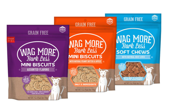 Wag More Bark Less new products: Mini Biscuits and Soft Chews