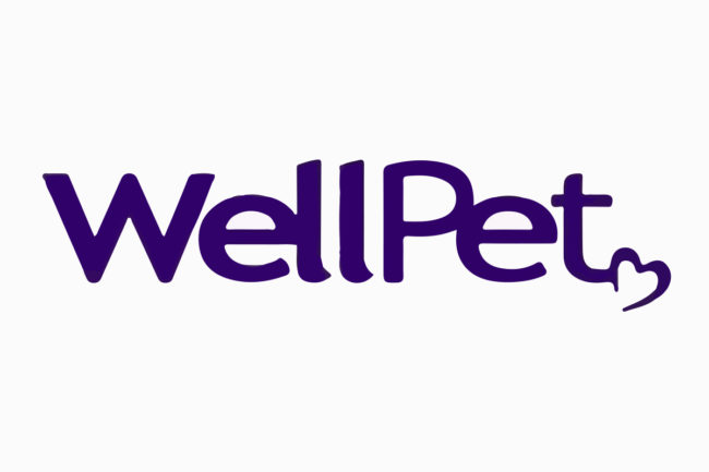 Purple WellPet logo