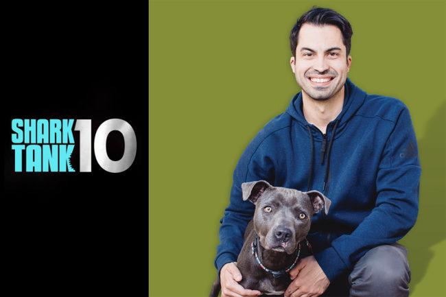 Wild Earth CEO Ryan Bethencourt and Shark Tank season 10 logo
