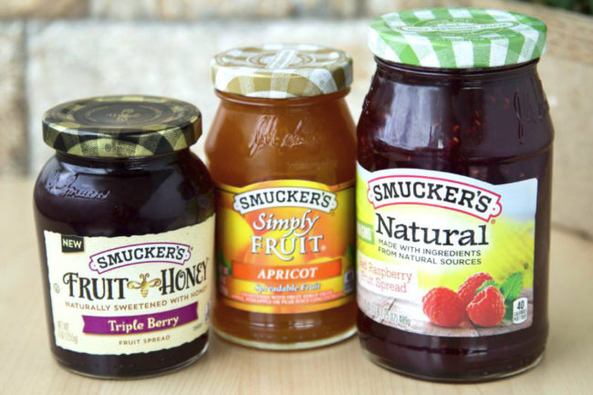 Smucker's jelly and jam products