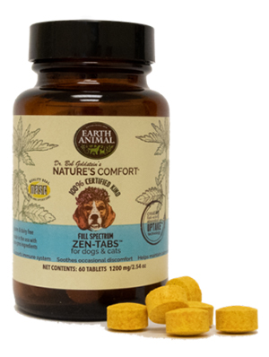 Earth Animal Nature's Comfort dog supplements